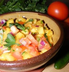 Mango Pico-de-Gallo Salsa