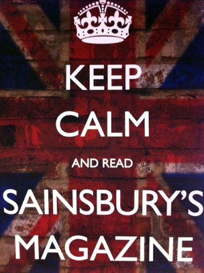Keep Calm and read Sainsbury's Magazine